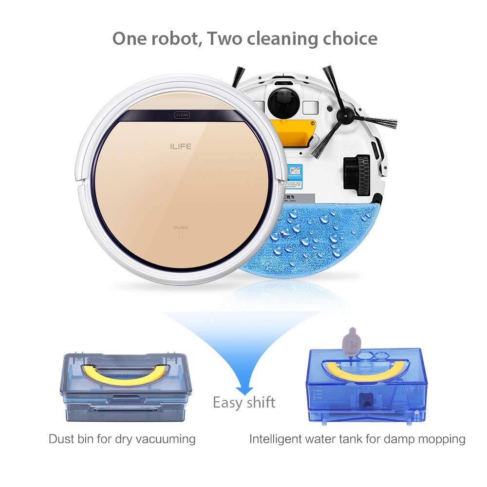 Vacuum Cleaners Hot Sale Battery Home Cleaning Robot Mute Design Smart Sweeping Robot Floor Dirt Dust Hair Automatic Cleaner Electric Vacuum Cleane Price Remains Stable Cleaning Appliances
