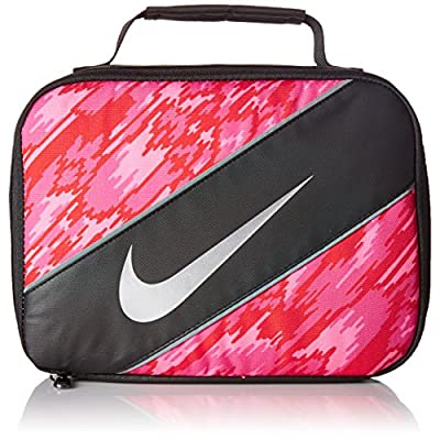 Nike Insulated Lunchbox - black/hyper pink, one size: Kitchen & Dining
