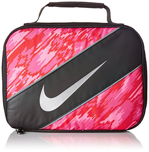 Nike Insulated Lunchbox - black/hyper pink, one size