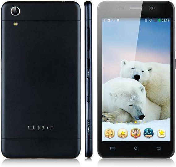 CUBOT X9 Negro Unlocked Movil 3G Octa Core Y Doble SIM y Doble modo de Espera Con Pantalla de 5.0