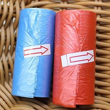 15pcs / Roll Bolsas de pañales para bebés Bolsas de Basura ...