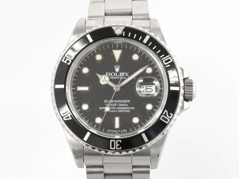 ロレックス ROLEX サブマリーナ 16800 ブラック文字盤 メンズ 腕時計 中古 B00KR9YGBS