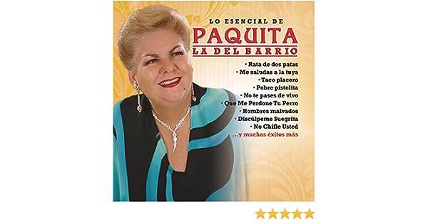 Paquita la del Barrio - Lo Esencial de Paquita la del Barrio - Amazon.com Music