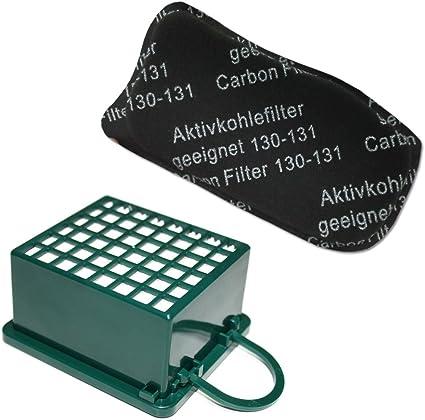 FILTRO ODORI E IGIENE filtro Adatto per Vorwerk aspirapolvere Folletto 130//131