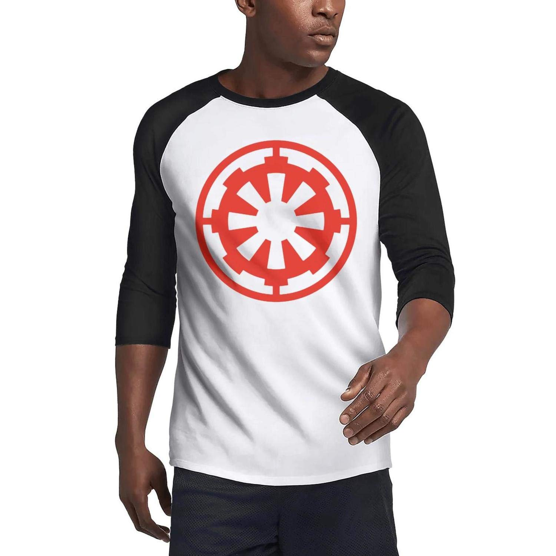 TablincoT Mens Casual 3//4 Sleeve Baseball Tshirt Film Logo Plain Raglan Jersey Tee Shirt
