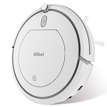 Aiibot Robot Aspirador Navegación Inteligente, Robot de Limpieza Fuerte Succión con Control Remoto, Sensor de Caída (T288 Blanco): Amazon.es: Hogar