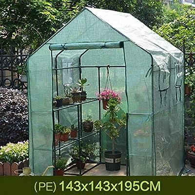 TWS Invernadero jardín Aislamiento Que Cubre la Lluvia con 6 estantes (Color : A): Amazon.es: Hogar