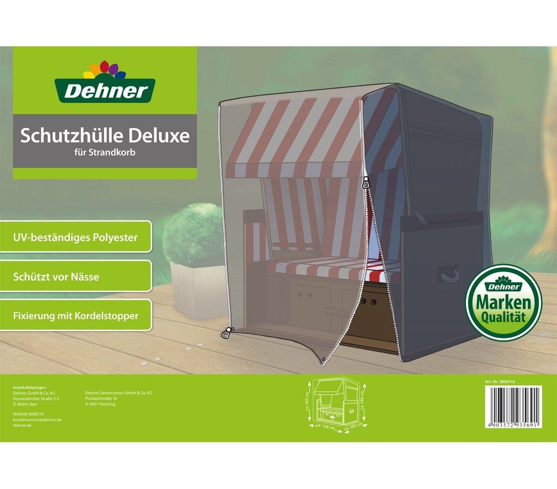 Dehner - Funda Deluxe para caseta Playa, Aprox. 230 x 128 x 105 cm, poliéster, Antracita: Amazon.es: Jardín