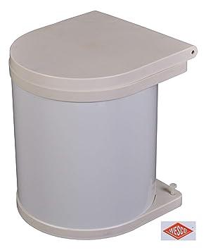 Wesco Einbau Abfallsammler 5 Liter Mülleimer Müllsammler Schrank Abfalleimer