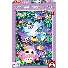 SCHMIDT Childrens Puzzle-In Owl Woods-200 Pieces