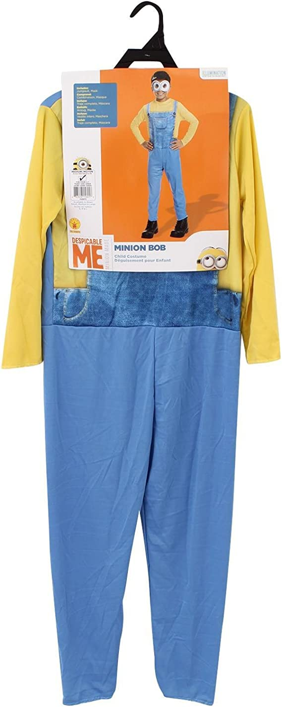 MINIONS Disfraz Infantil Villano Favorito Bob, tamaño pequeño ...