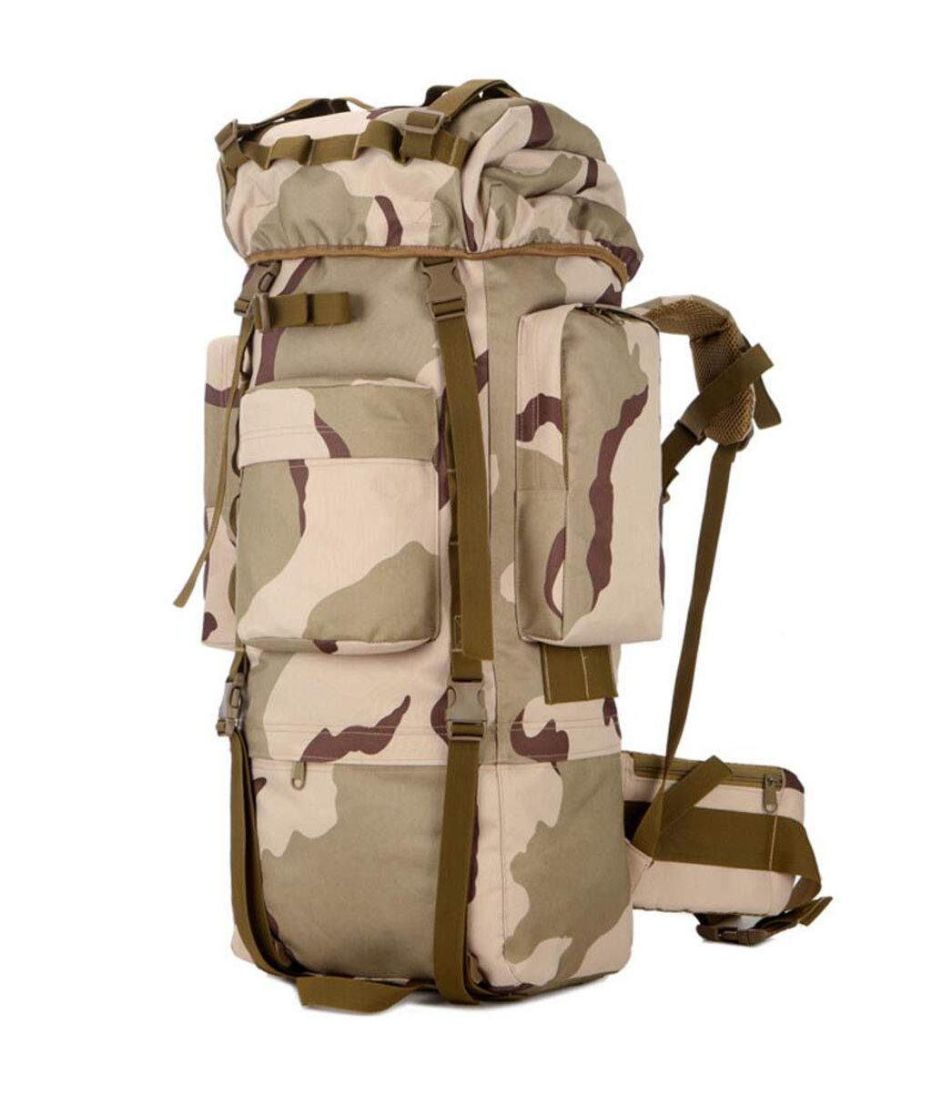 JSHFD カモフラージュ ハイキング アウトドア バックパック 大容量 メンズ レディース アウトドア ハイキング バッグ 装備バッグ 9色 B07GCPPHRH カラー4