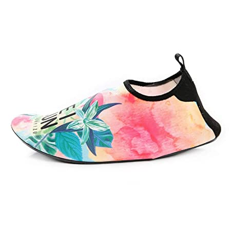 Zapatos Secado Rapido,Unisex Soft Bottom Beach Shoes Yoga ...
