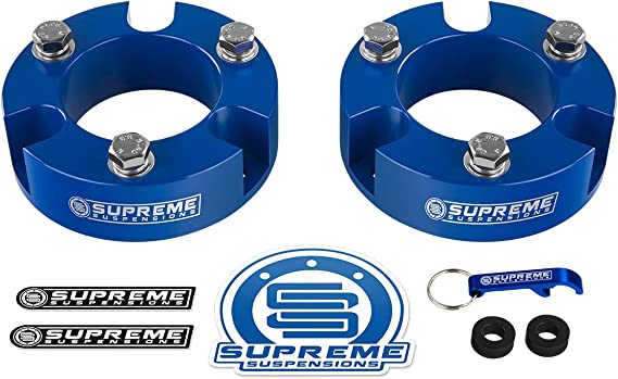 Duokon 2pcs Supreme Suspension Distut Spacers Kit di livellamento anteriore per 1995-2004 Tacoma 4Runner 4WD 2WD
