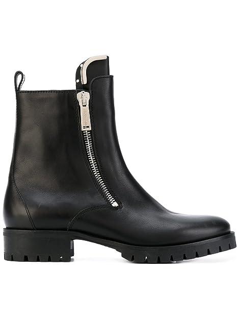 Dsquared2 Hombre W17BO1010152124 Negro Cuero Botines: Amazon.es: Zapatos y complementos