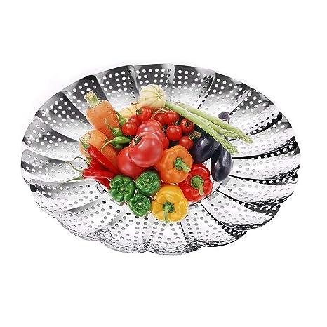 Premium vegetal Steamer Cesta, 5.5