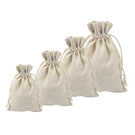 BESTONZON 4PCS Bolsas de cordón vacías Bolsa de bolsitas de ...