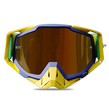 792040d557b89 Amazon.com   Yaloee Polarized Sport Goggles with Hard Case UV Protection  Dual Lens for Motorcycle Skiing Adjustable Strap Glasses   Sports   Outdoors