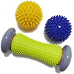 Foot Roller Massage Ball for Relief Plantar Fasciitis and Reflexology Massager for Deep Tissue Acupresssure Recovery for...