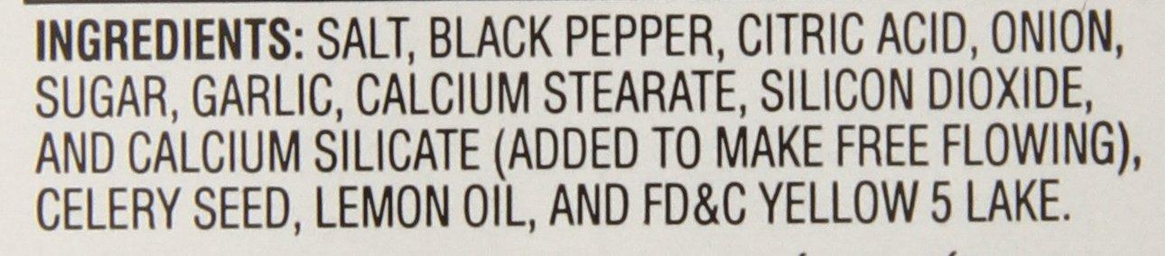 McCormick Culinary Lemon & Pepper Seasoning Salt, 28 oz by McCormick (Image #2)