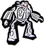 Robot Transformers Cartoon Kid Jacket T shirt Patch Sew Iron on Embroidered Applique Badge Custom