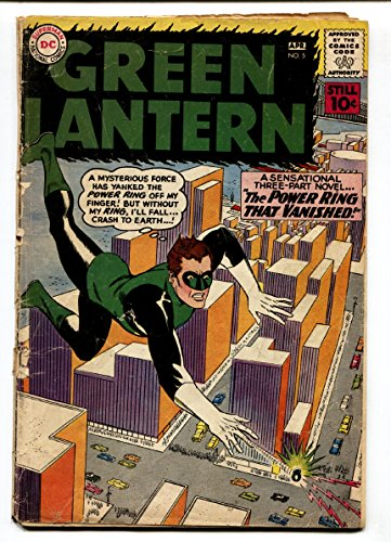 GREEN LANTERN #5 1962-DC COMICS-1st appearance of Hector Hammond ()