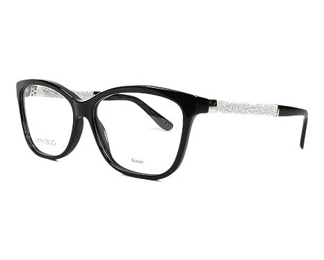 961dea9d35 JIMMY CHOO Eyeglasses 105 0Fa3 Black 55MM  Amazon.ca  Luggage   Bags