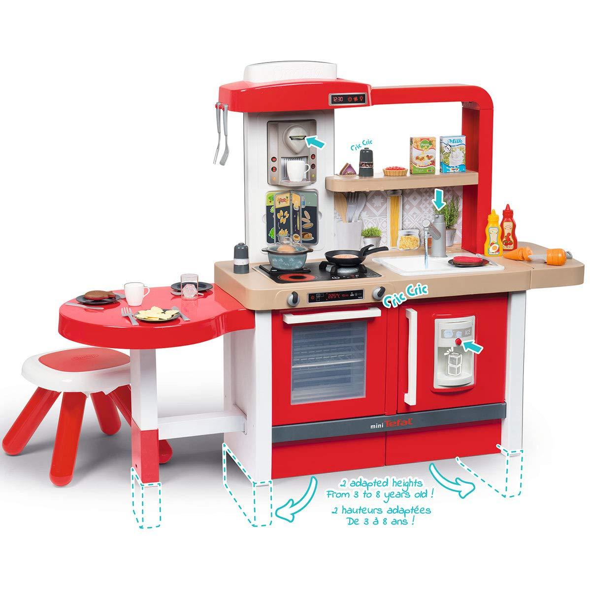 Smoby- Cocina Juguete evolutiva, Color Rojo (312301): Amazon.es ...