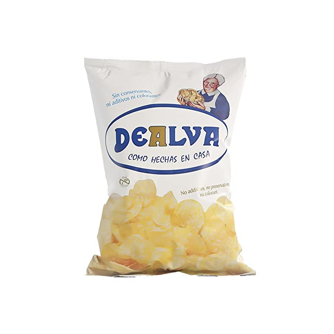 Patatas Fritas Dealva Caja 6 Bolsas de 320 gramos