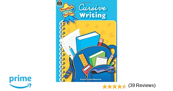 Amazon.com: Cursive Writing (Practice Makes Perfect ...