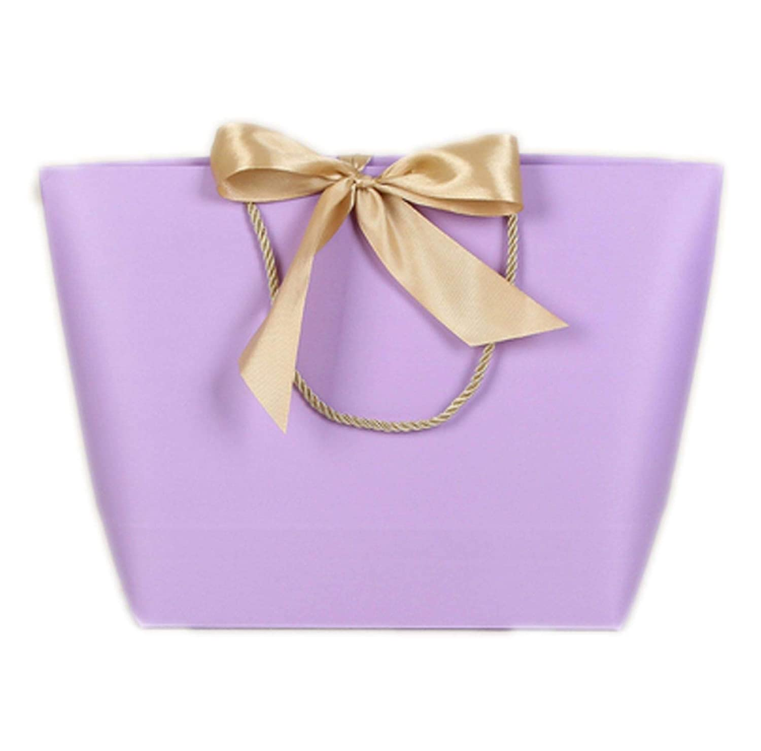I 46x33x13cm wall8CC Large Size gold Present Box for Pajamas Clothes Books Packaging gold Handle Paper Box Bags Kraft Paper Gift Bag With Handles,B,Mixed Size