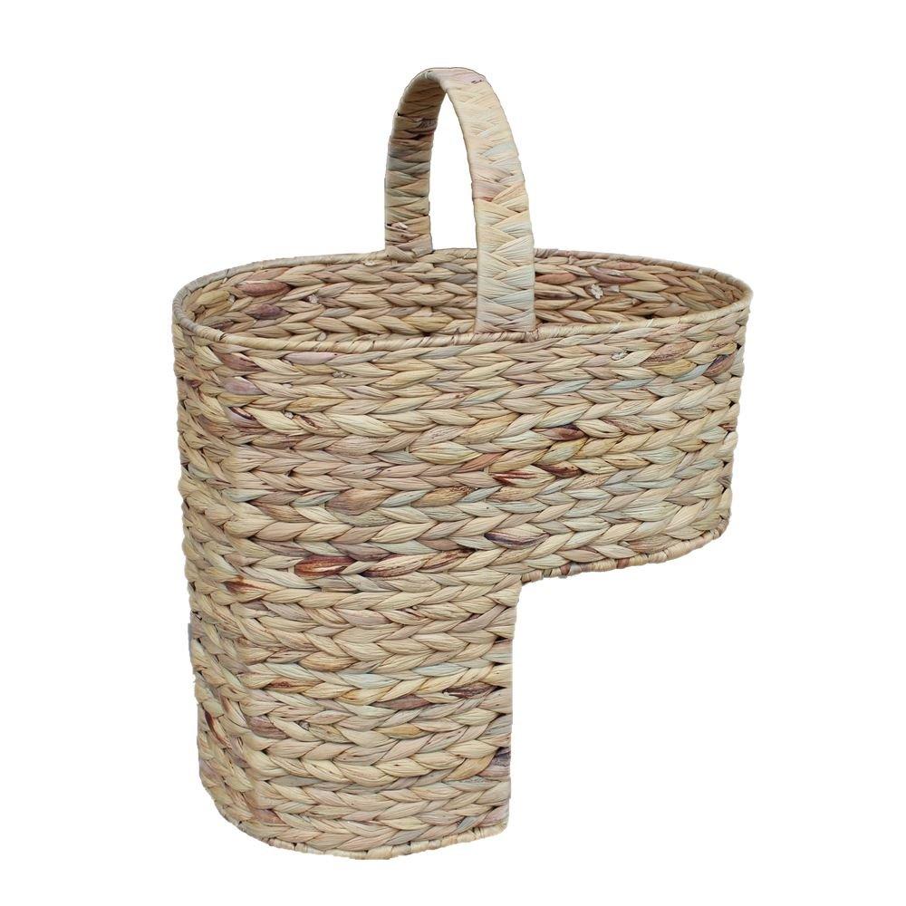 Water Hyacinth Stair Basket by Red Hamper