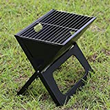 Grills Out Grills Outdoor Barbecue Grill Portable Folding Camping Patio Garden charcoal furnace Household BBQ grills Burn oven stove , 8