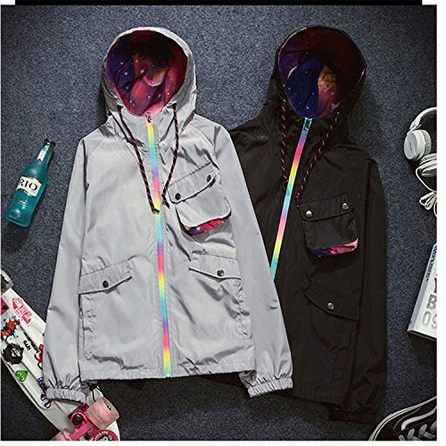 Robert Joslin Fashion 2017 Spring Jacket Coat Women Hooded Plus Size Women Clothing Chaquetas Mujer Long Sleeve Oversize Jackets Coat Women Outwear (Adelaide Dress Hire)