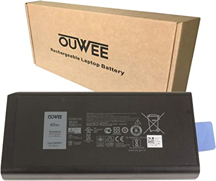 Amazon Com Ouwee 9wmn7 Laptop Battery Compatible With Dell Latitude 14 Rugged Extreme 5404 7404 5414 7414 Series Notebook Cj2k1 Dknkd X8vwf 4xkn5 5xt3v Vcwgn Xn4kn Xrjdf Ygv51 909h5 23mr0 10 95v 65wh 5900mah