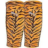Puma Jungle Shinguard Compression Sleeve, Neon Orange