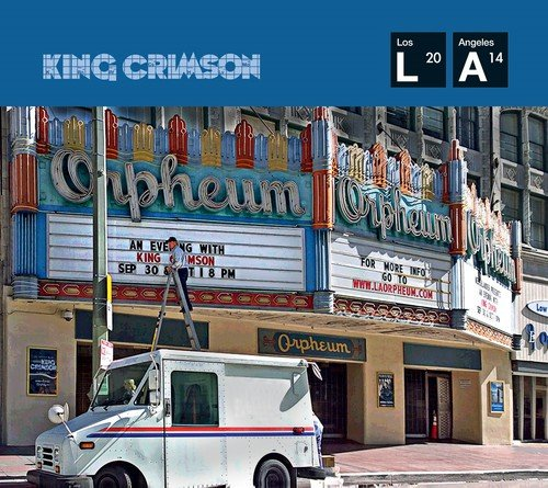 CD : King Crimson - Live at the Orpheum (With DVD Audio Disc, 3 Disc)