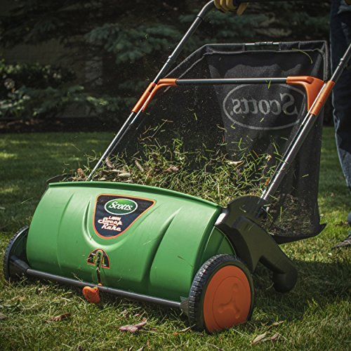 Buy lawn sweeper for grass clippings