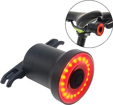 Luz de Cola Para Bicicleta Inteligente - Ultra Brillante - Sensor ...