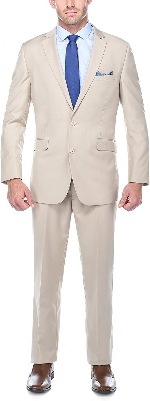Fashion Business Suit Classic Regular Fit Solid Color