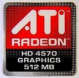 Original ATI Radeon HD4750 Graphics 512MB Sticker 16 x 16.5mm [280]