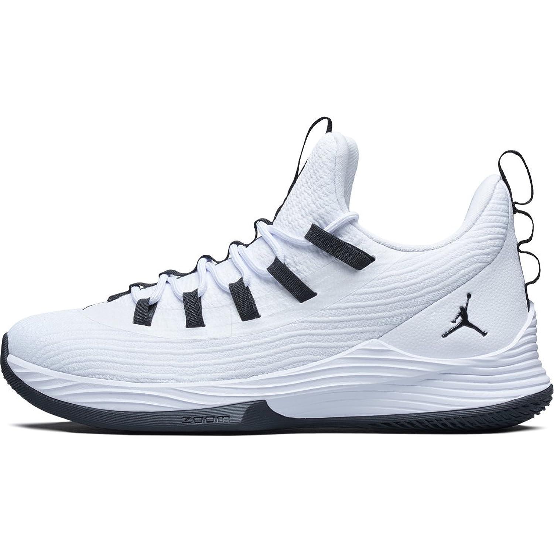 [ナイキ] Nike Jordan Ultra Fly 2 Low AH8110-100 ホワイト ブラック ジョーダン メンズ [並行輸入品] B07BWFB2GK 28.0 cm