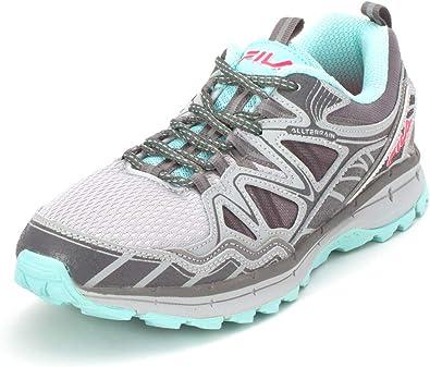 Fila Memory TKO Tr 5.0 - Zapatillas de correr para hombre, Gris (gris menta), 42.5 EU: Amazon.es: Zapatos y complementos