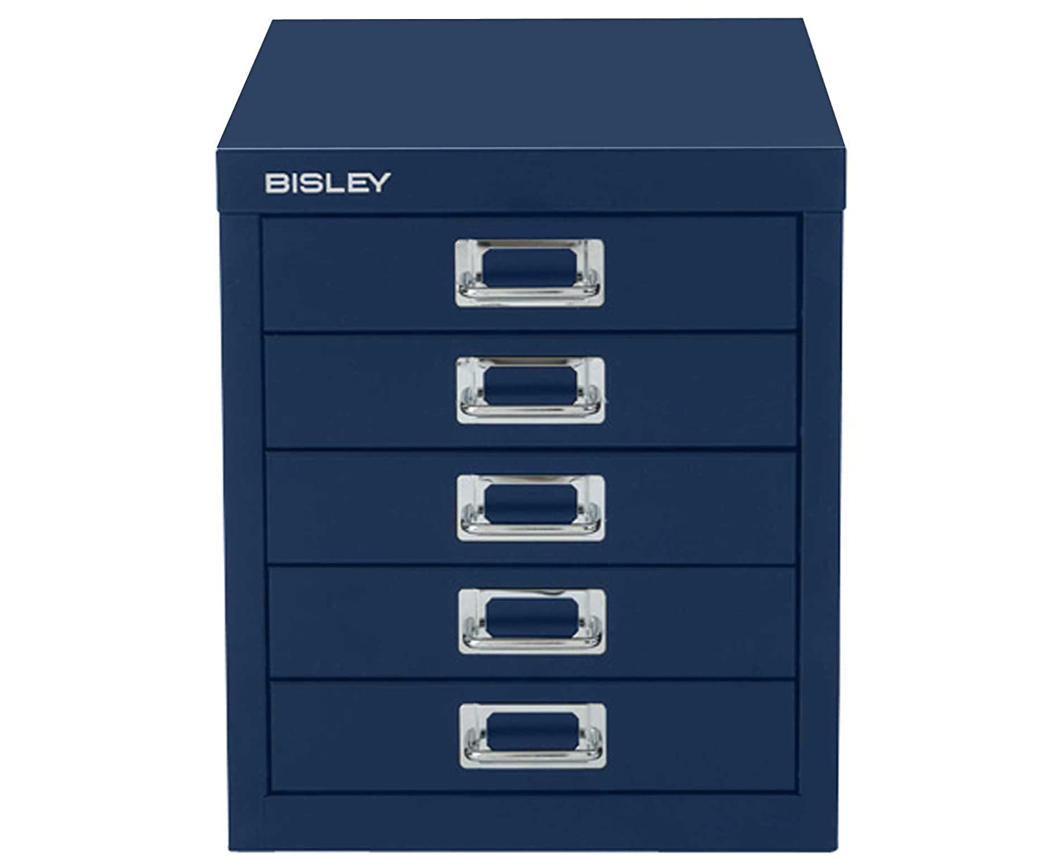 Bisley Cabinet 5 Drawer - Color: Oxford Blue