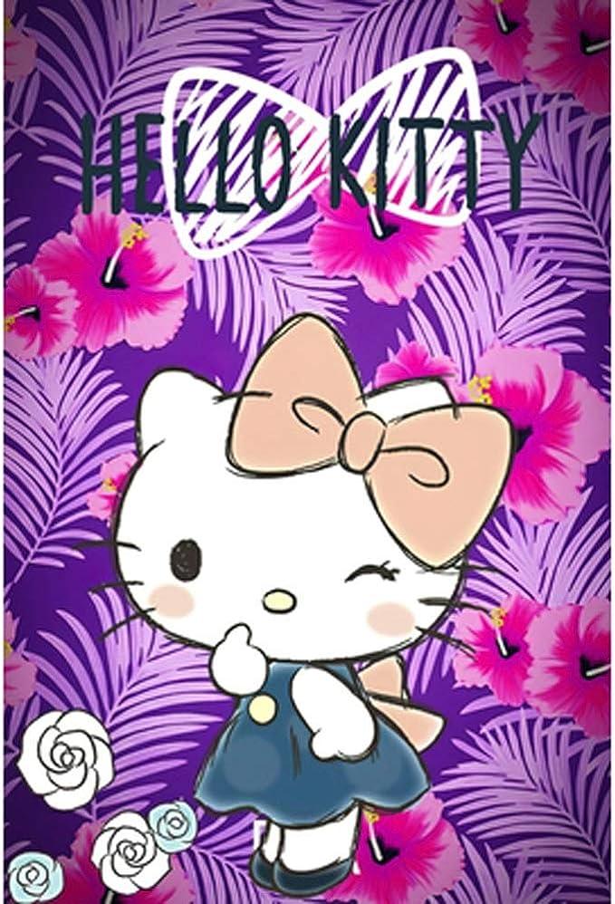 VAST Animado Hello Kitty Puzzles de Dibujos Animados, Tilo Corte Apto, 300/500/1000 Regalos Piezas Inteligencia, Rompecabezas for los cumpleaños de los niños 514 (Color : C , Size : 1000pc) : Amazon.es: Juguetes y juegos