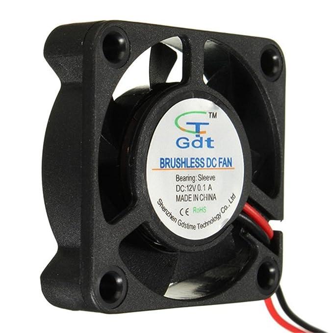 DAOKI 5 PCS 12V 404010mm Cooling Fan for 3D Printer Parts Reprap Prusa I3