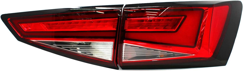 Folie Für Rückleuchte Umrahmung Umrandung Foliendekor Rücklicht Aufkleber Kfz Beleuchtung Dekor Carstyling Zubehör D103 Auto
