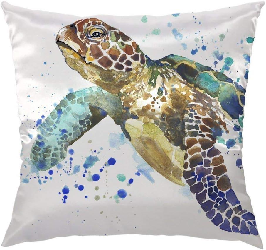 Shop Cushion Sea Turtle Pillow UK