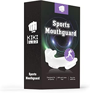 2 Pack Sport Mouth Guard, Kids Youth Adults Mouthguard for Rugby