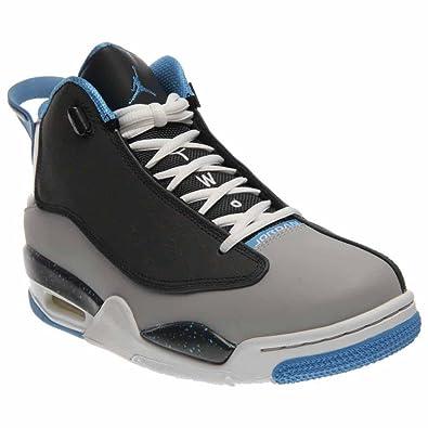 d5b35a07cb49 Nike Mens - Air Jordan Dub Zero - Wolf Grey University Blue Classic Charcoal  - UK